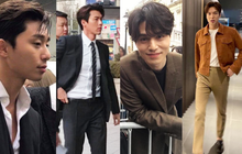 """Thử chụp lén dàn tài tử Hàn: Hyun Bin khí chất nghẹt thở, Lee Min Ho chân siêu dài, Lee Dong Wook - Park Seo Joon đẹp """"điên lên"""""""