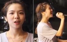 Vừa bán gà rán vừa hát cho khách nghe, gái xinh bỗng chốc trở thành ngôi sao MXH vì giọng quá hay