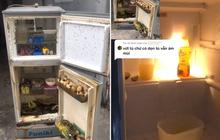 """Chiếc tủ lạnh """"thối um"""" sau những ngày về quê nghỉ dịch, dân mạng khuyên ném đi nhưng cô gái lại làm 1 việc khiến ai cũng trầm trồ"""