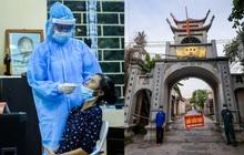 Ảnh: Khẩn trương xét nghiệm hơn 9.000 dân sau khi phát hiện 5 ca mắc Covid-19 ở ngoại thành Hà Nội