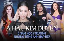 """Á hậu Kim Duyên: 5 năm học 4 trường nhưng nghi vấn chưa tốt nghiệp, netizen đòi """"sao kê"""" bằng cấp"""