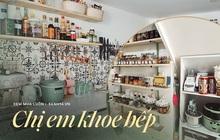 Căn bếp gây sốt với tủ gia vị đồ sộ như siêu thị, nghe gia chủ giải thích lý do mới thấy độ khoa học