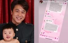 Netizen ngã ngửa vì tin nhắn của nhóc tỳ 2 tuổi nhà Hoà Minzy gửi bố đại gia, nội dung là gì?