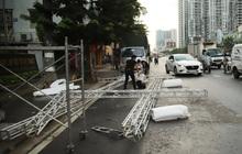 """Ảnh: Hà Nội tháo dỡ 39 chốt kiểm soát phân vùng, không kiểm tra giấy đi đường trong """"vùng xanh"""""""