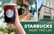 Dân tình nô nức kéo đến 5 store Starbucks Hà Nội mở cửa: Gần 2 tháng mới được check-in với cốc cà phê trên tay, tôi khóc!
