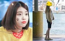 """Lộ ảnh đầu tiên của IU ở hậu trường bom tấn mới: Đậm chất dân """"yang hồ"""" nhưng sao chị đẹp gầy quá"""