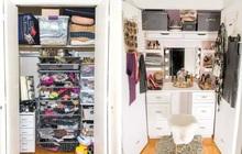 """5 màn biến hình tủ quần áo khiến chị em phải thốt lên """"ơ mây zing"""", xem xong có ngay động lực dọn tủ"""