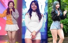 Cùng mặc một kiểu trang phục, 5 sao Hàn này trông thế nào trước và sau khi giảm cân?