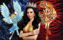 Lộ 2 trang phục dân tộc của mỹ nhân Việt tại Miss Grand 2021, có cả hình ảnh y bác sĩ tuyến đầu?