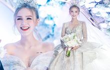 Ảnh Xoài Non làm cô dâu lại gây sốt diện rộng, giờ ngắm lại loạt váy cưới đỉnh cao vẫn thấy đẹp mê li