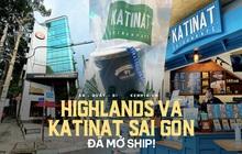 """Người Sài Gòn """"cắt cơn"""" thèm cafe nhờ 2 ông lớn Highlands và Katinat mở bán trên app: Cầm ly nước xúc động tưởng xuân đang về!"""
