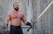 """""""Thần sấm"""" Thor Bjornsson thể hiện sức mạnh đáng nể trên võ đài, """"hủy diệt"""" huyền thoại vật tay một cách chóng vánh"""