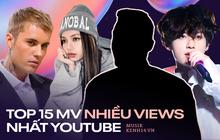15 ca khúc nhiều view nhất YouTube: Despacito bị 1 bài Hàn Quốc truất ngôi, BTS - BLACKPINK tưởng khủng mà không lọt top nổi
