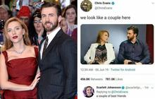 """""""Đội trưởng Mỹ"""" Chris Evans công khai thả thính cô bạn thân Scarlett, ai ngờ bị đằng gái friendzone thẳng tay đến là quê"""