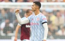 """[Trực tiếp Ngoại hạng Anh] West Ham 1-1 MU (H1): Ronaldo lại ghi bàn kiểu """"Đệm vương"""" cứu Quỷ đỏ, hay đến mức không thể tin nổi!!!"""