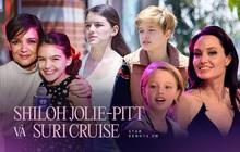 2 ái nữ 15 tuổi nhà Tom Cruise - Brad Pitt cùng có gia thế khủng, thiếu tình thương của cha và 1001 điểm chung nhưng ngoại hình quá trái ngược