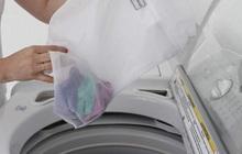 """Giặt máy cửa trên làm quần áo nhanh """"tã"""" nhưng chỉ một phụ kiện giá từ 10k sẽ giúp khắc phục dễ dàng!"""