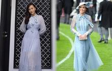 Phương Oanh khoe váy mới để gỡ gạc hình ảnh của Nam, netizen liên tưởng ngay đến Công nương Kate