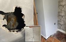 Sửa nhà mới mua, gia chủ phát hiện con búp bê rùng rợn và bức thư đe dọa giấu kín sau bức tường