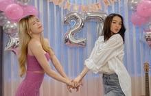 Thiều Bảo Trâm visual đỉnh, đón tuổi 27 bên chị gái nhưng bị netizen soi ra mỗi năm sinh nhật một ngày khác nhau?