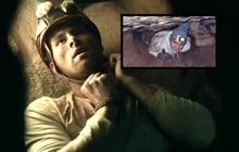 Bi kịch chàng trai mắc kẹt chổng ngược trong hang động hẹp, chờ chết vì dồn máu não: Tai nạn lịch sử lên phim mà ám ảnh tột độ