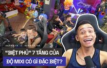 """Soi cơ ngơi hot streamer Việt: Độ Mixi là tâm điểm của cả cộng đồng với """"biệt phủ"""" 7 tầng và nhiều món đồ đặc biệt"""