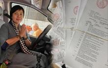 """Giang Kim Cúc tung xấp sao kê tốn gần 2,5 triệu tiền giấy in: """"Minh bạch trong thiện nguyện không khó, chỉ là Cúc dồn một lúc gần 2 tháng nên hơi chậm trễ"""""""