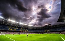 Bầu trời đen kịt bủa vây Camp Nou, Barcelona lại gây thất vọng tràn trề