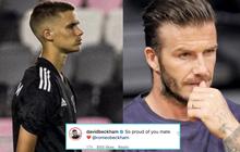 """Con trai David Beckham lần đầu ra sân thi đấu bị chuyên gia nhận xét """"không nổi bật"""" và động thái đầu tiên của ông bố trên MXH"""