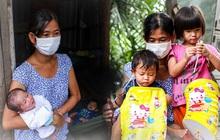 """Chồng mất khi đang mang thai, vợ ôm 3 đứa con khát sữa trong túp lều dột nát ở Sài Gòn: """"Tụi nhỏ cứ hỏi cha con đi đâu rồi"""""""