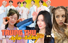 Dàn sao châu Á nô nức đón Trung thu: Triệu Lệ Dĩnh - Lisa khoe visual đỉnh cao, BTS lên đồ truyền thống, Hyun Bin chúc gì đây?