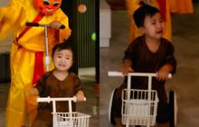 Con trai Hoà Minzy chiếm sóng MXH dịp Trung thu: Gặp chú Tễu tưởng vui ai ngờ... khóc thét!