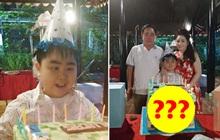 """Khi rich kid của KDL 6000 tỷ Đại Nam mừng sinh nhật: Bánh kem """"siêu to khổng lồ"""" nhưng ai cũng tò mò trước kiểu dáng khó hiểu"""