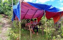 Những góc học online đặc biệt giữa núi rừng của học sinh vùng cao xứ Nghệ