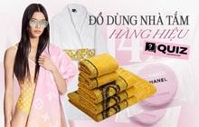 Khăn mặt 3 triệu, khăn tắm hơn chục triệu: Bóc giá loạt đồ dùng nhà tắm hàng hiệu LV, Dior... mà thấy xót ví