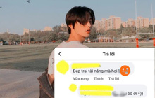 Lướt Facebook thấy trai đẹp liền vào khen 1 câu, ai ngờ lại sai chính tả khiến nội dung thành ra thế này, nghe mà tức