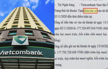 """Vietcombank chính thức giải đáp về thuật ngữ """"Tạm khóa báo có"""" gây nhiều tranh cãi"""