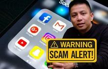 Hiếu PC vạch trần nền tảng làm giả website khiến người dùng dễ bị lừa đảo đánh cắp tài khoản Facebook, Google, Shopee, Garena