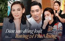 NS Hồng Vân - Nhật Kim Anh và dàn sao Việt đồng loạt hướng lòng nguyện cầu cho Phi Nhung sau thông tin sức khoẻ chuyển biến xấu