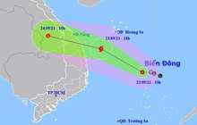 Áp thấp nhiệt đới có khả năng mạnh lên thành bão, ảnh hưởng các tỉnh miền Trung từ tối nay