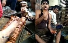 Video công nhân lò bánh dùng chân dẫm, liếm láp bánh mỳ rồi đóng gói bán ra thị trường gây phẫn nộ tại Ấn Độ