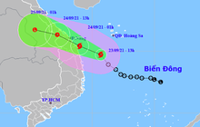 Bão số 6 giật cấp 10 di chuyển nhanh hướng vào Thừa Thiên Huế - Quảng Ngãi, các tỉnh miền Trung mưa rất to