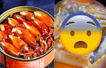 Soi mực đóng hộp hot trend của Trung Quốc dưới kính hiển vi, TikToker phát hiện sự thật kinh hoàng ẩn bên trong