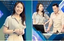 Những hình ảnh đầu tiên của Khánh Vy với vai trò MC Đường Lên Đỉnh Olympia: Nhan sắc và phong cách dẫn thế nào?