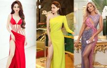 """Nghịch lý mỹ nhân Việt: Ham mặc váy xẻ cao tới gần rốn nhưng vẫn phải che đậy cho đỡ """"lộ hàng""""?"""