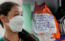 Nghẹn lòng trao lại kỷ vật cho thân nhân người bệnh qua đời vì COVID-19 tại Bệnh viện Dã chiến số 16