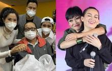 Phương Thanh báo tin vui về NS Trần Mạnh Tuấn sau khi bị đột quỵ, nói thế nào khi được hỏi tình hình của Phi Nhung?