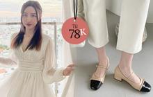 Cuối tuần sale quá trời váy áo và phụ kiện xinh xẻo: Giày sang chảnh hay váy bánh bèo đều giảm tới 50%