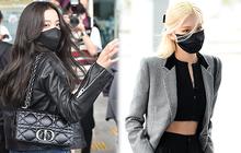HOT: Jisoo và Rosé chính thức lên đường tham dự Paris Fashion Week, mặc đồ đơn giản nhưng trị giá lại gần cả tỷ đồng