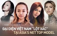 """6 pha """"lột xác"""" của đại diện Việt Nam tại Next Top Model châu Á: Người bị """"dìm"""" lộ liễu, người thăng hạng visual"""